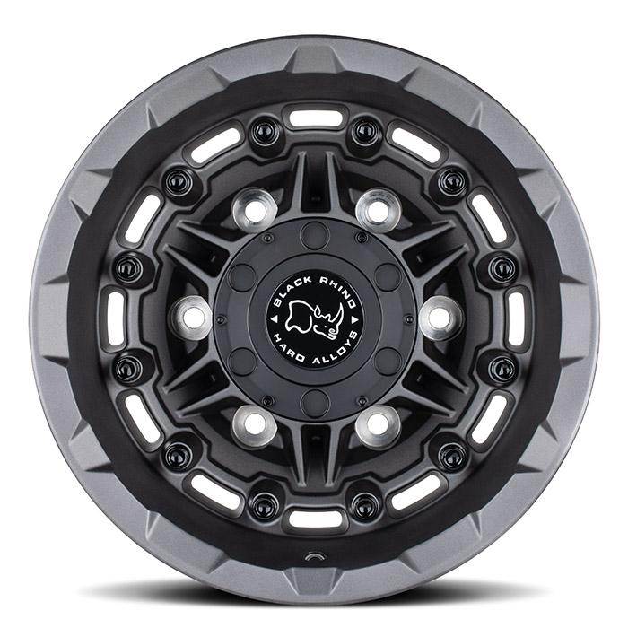 BLACK RHINOホイール Destroyer(デストロイヤー) マットガンメタル [リア]