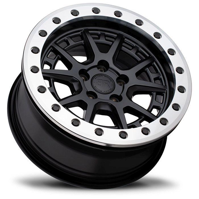 BLACK RHINOホイール Gravel Beadlock(グラベル ビードロック) マットブラックw/マシニドリング&ブラックボルト