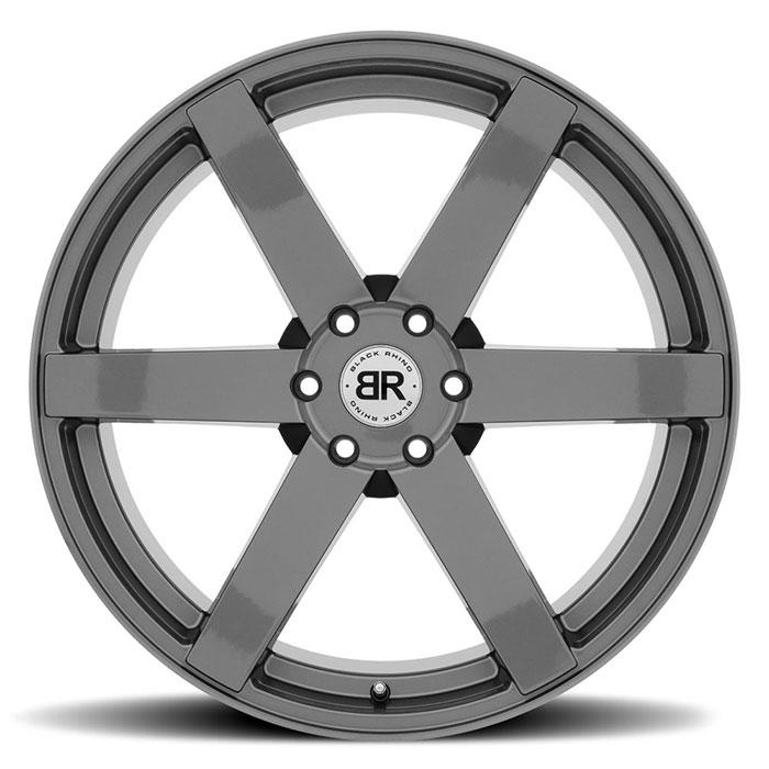 BLACK RHINOホイール Karoo(カルー) グロスガンメタル