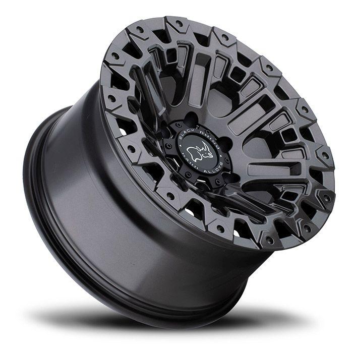 BLACK RHINOホイール Ozark(オザーク) グロスガンメタル