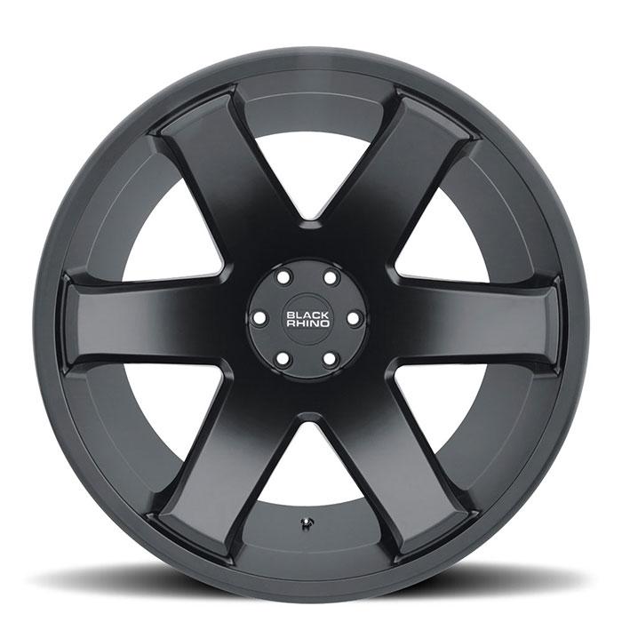 BLACK RHINOホイール Raze(レイズ) マットブラック
