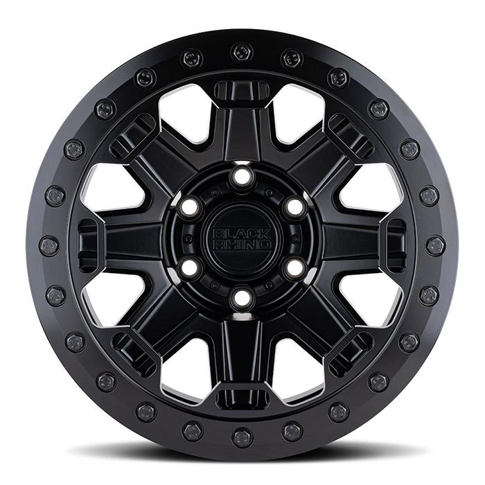 BLACK RHINOホイール Rift Beadlock(リフト ビードロック) マットブラック w/ブラックボルト