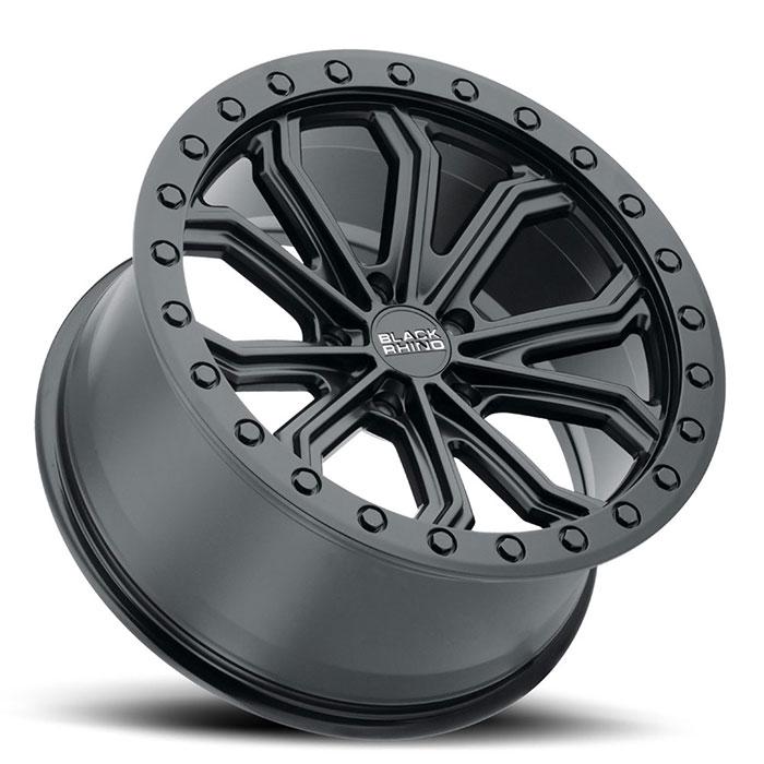 BLACK RHINOホイール Trabuco(トラブコ) マットブラック with ブラックボルト