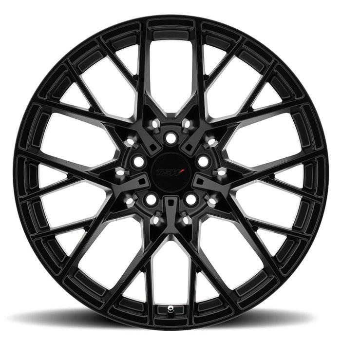 TSWホイール Sebring(セブリング) マットブラックフェイス