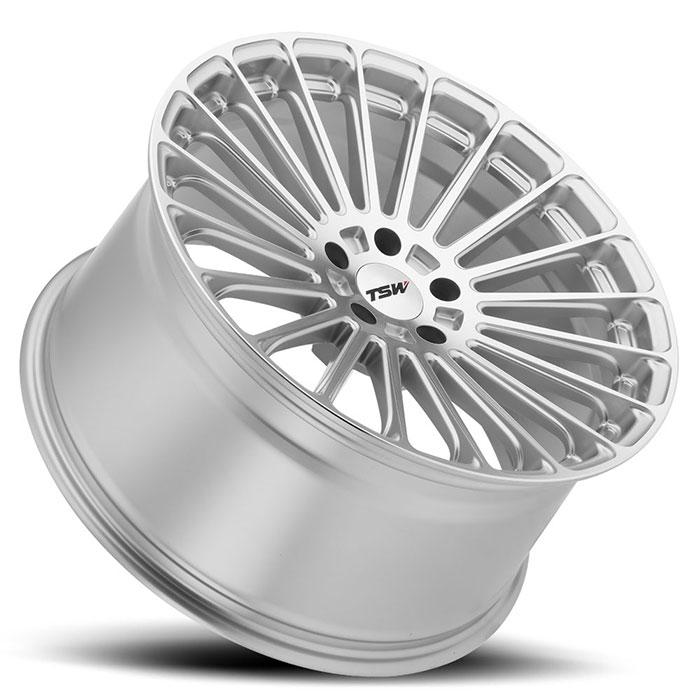 TSWホイール Turbina(タービナー) チタニウムシルバーw/ミラーカットフェイス
